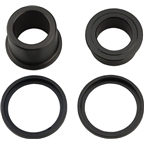 DT Swiss 350/370 15x100mm End Cap Kit: Includes Right and Left End Caps and 2 Retainer Rings