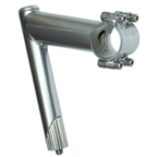 Nitto UI-12 Quill Stem, (31.8) 71d X 90mm Silver