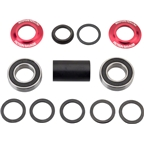 Fiction Savage MID Bottom Bracket 22mm Red