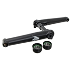 4-Jeri Pro-Style Arms/spindle (English BB), 175mm Black