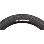"Fiction Troop Tire 20 x 2.3"" Black"