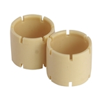 Burgtec Pre-tensioned Bushings For Ti Offset Hardware, Set/2