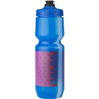 Salsa Wide Mouth Purist Water Bottle: 26oz, Team Edition, Blue
