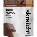 Skratch Labs Sport Recovery Drink Mix: Chocolate 12-Serving Resealable Pouch