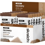Skratch Labs Sport Recovery Drink Mix: Chocolate Box of 10