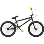"Radio Evol 20"" 2018 Complete BMX Bike 20.3"" Top Tube Glossy Black"
