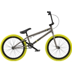 "Radio Saiko 20"" 2018 Complete BMX Bike 20.6"" Top Tube Steel Gray"