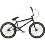 "Radio Darko 20"" 2018 Complete BMX Bike 21"" Top Tube Matte Black"