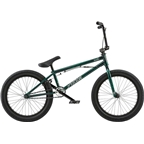 "Radio Astron FS 20"" 2018 Complete BMX Bike 20.6"" Top Tube Glossy Black/Green"
