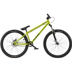 "Radio Fiend 26"" 2018 Complete Dirt Jump Bike 22.6"" Top Tube Metallic Lime Green"