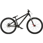 "Radio Griffin Pro 26"" 2018 Complete Dirt Jump Bike 22.8"" Top Tube Matte Black"