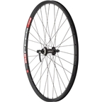 "Quality Wheels Mountain Disc Front Wheel DT 533d Deore M610 26"" QR 100mm Black"