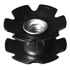 "Aheadset Star Nut, 1-1/4"" Steel (some 1-1/4"" Alum)"