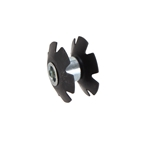 "FSA Star Nut, 1-1/8"" Steel - Black"