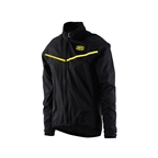 100% Corridor Stretch Windbreaker, Black - Large