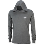 Eclat Circle Icon Long Sleeve T-Shirt: Dark Heather Gray