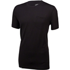 Surly Merino Pocket T-Shirt: Black