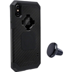 Rokform Rugged Case iPhone X: Black