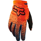 Fox Racing Dirtpaw Women's Full Finger Glove: Gray/Orange