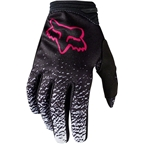 Fox Racing Dirtpaw Women's Full Finger Glove: Black/Pink