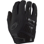 Lizard Skins Monitor SL Gel Gloves: Black