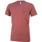 Eclat Circle Icon T-Shirt: Red