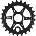 We The People Patrol Sprocket 33t Black 23.8mm Spindle Hole With Adaptors for 19mm and 22mm