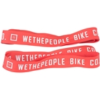 "We The People Nylon 22"" Rim Tape Set Red"