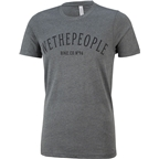We The People Arc T-Shirt: Heather Gray