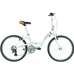 "Dahon Briza D8 24"" Folding Bike Frost"