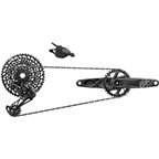 SRAM GX Eagle Groupset: 175mm 32 Tooth GXP Boost Crank Rear Derailleur 10--50 12 Speed Cassette, Trigger Shifter, Chain