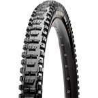 "Maxxis Minion DHR II Tire 27.5 x 2.6"" 120tpi Triple Compound MaxxTerra EXO Casing Tubeless Ready, Black"