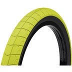 "Eclat Fireball Tire 20 x 2.4"" 100 PSI Neon Yellow Tread/Black Sidewall"