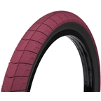 "Eclat Fireball Tire 20 x 2.4"" 100 PSI Burgundy Tread/Black Sidewall"