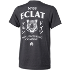 Eclat Tiger T-Shirt: Dark Heather Gray