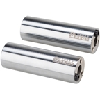 Odyssey MPEG 14mm Pegs with 3/8 Adaptor Sold In Pairs Chrome