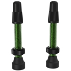 WTB Aluminum TCS Valve: 34mm, Green, Pair