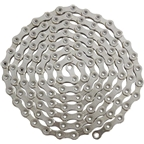 YBN Ti-Nitride Silver 12-speed Chain, 126 Links, 5.25mm Wide with One Reusable QRS Master Link