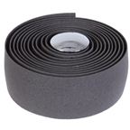 Soma Thick And Zesty Cork Bar Tape, Charcoal Gray