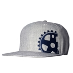 Headsweats Grey Wool Blue Crank 5-Panel Hat, Gray
