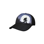 Headsweats Bigfoot Moon Rising 5-Panel Hat, Black
