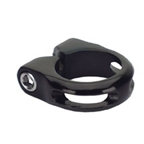 Kalloy MTB-TK Seat Clamp With Bolt, 28.6mm Black