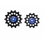 Kogel Bearings Hybrid Ceramic Derailleur Pulleys, SRAM Eagle - Black