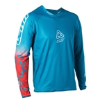 Leatt Jersey DBX 4.0 Ultraweld Longsleeve, Fuel (blue) - Medium
