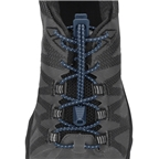 Nathan Run Laces: One Size Fits All, Dark Denim