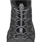 Nathan Run Laces: One Size Fits All, Steel Gray