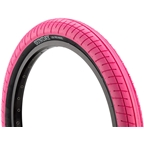 "Sunday Street Sweeper Tire 20 x 2.4"" Pink w/Black Wall"
