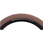 "We The People Overbite Tire 20 x 2.35"" 100 PSI Brown Tread/Black Sidewall"