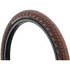 "We The People Overbite Tire 22 x 2.3"" 100 PSI Brown Tread/Black Sidewall"