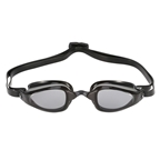 Michael Phelps K-180 Goggles: Silver/Black with Smoke Lens